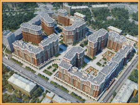 квартира в жилом комплексе Династия