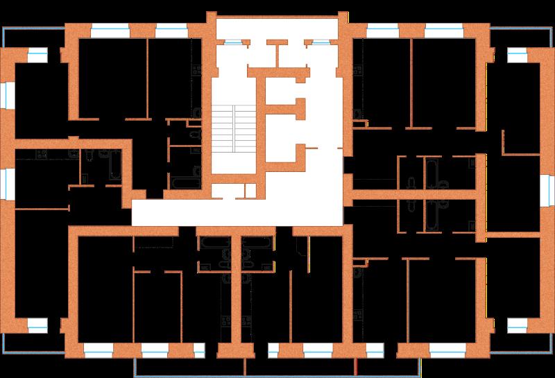 планировки квартирв жилом комплексе Аврора в Ярославле