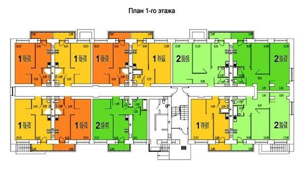 типовые планировки квартира