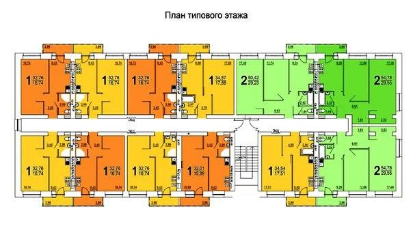 планировки квартир в новостройке в Ярославле