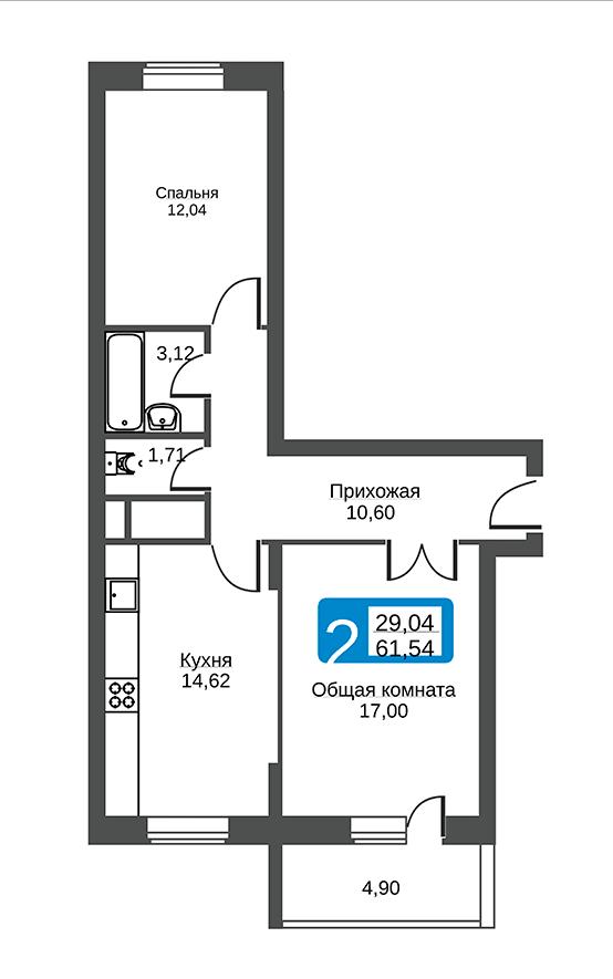 квартиры в Ярославле в Желдорипотека