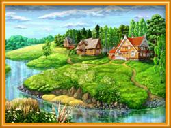 Аренда загородного дома на лето в Ярославской области недорого