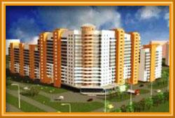 Новый микрорайон в Ярославле
