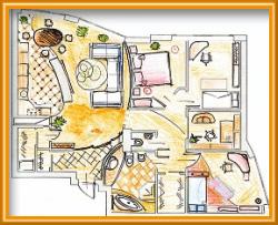 объединение квартиры