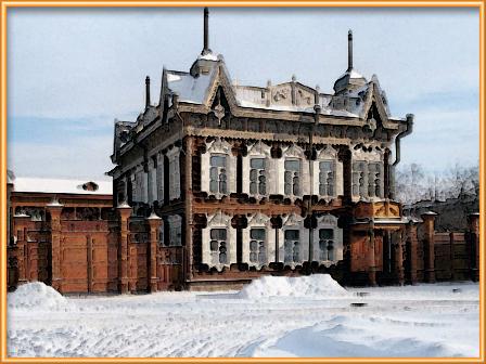 деревянные дома Ярославль